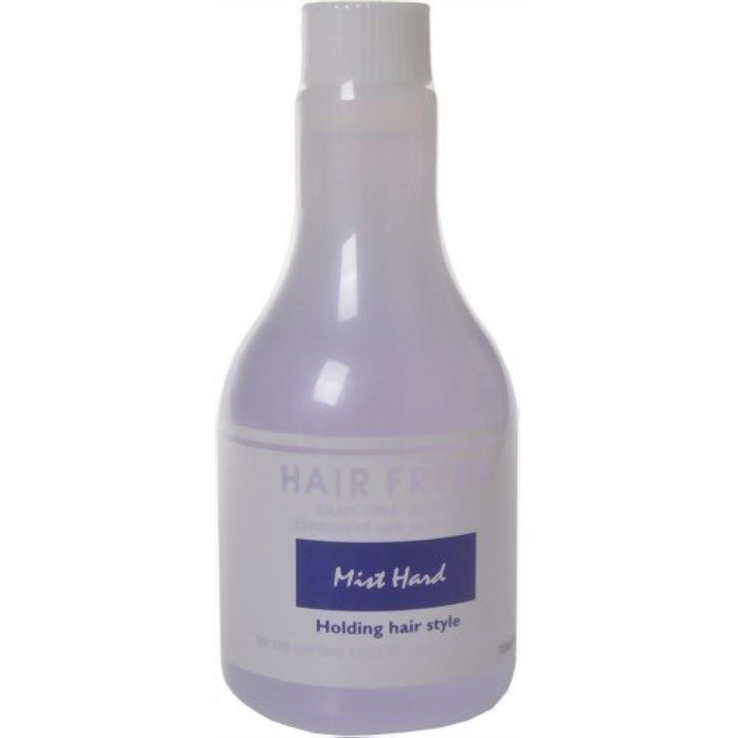 黒付属品風味中野製薬 ヘアフレッシュ ミスト ハード 315ml