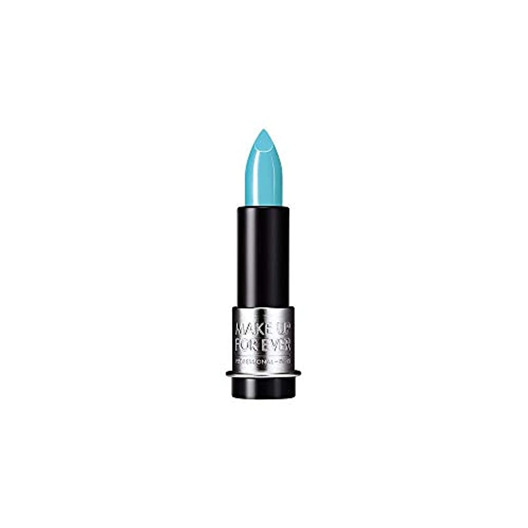 探検中央ブレス[MAKE UP FOR EVER] これまでアーティストルージュクリーム口紅3.5グラムのC602を補う - ターコイズブルー - MAKE UP FOR EVER Artist Rouge Creme Lipstick...