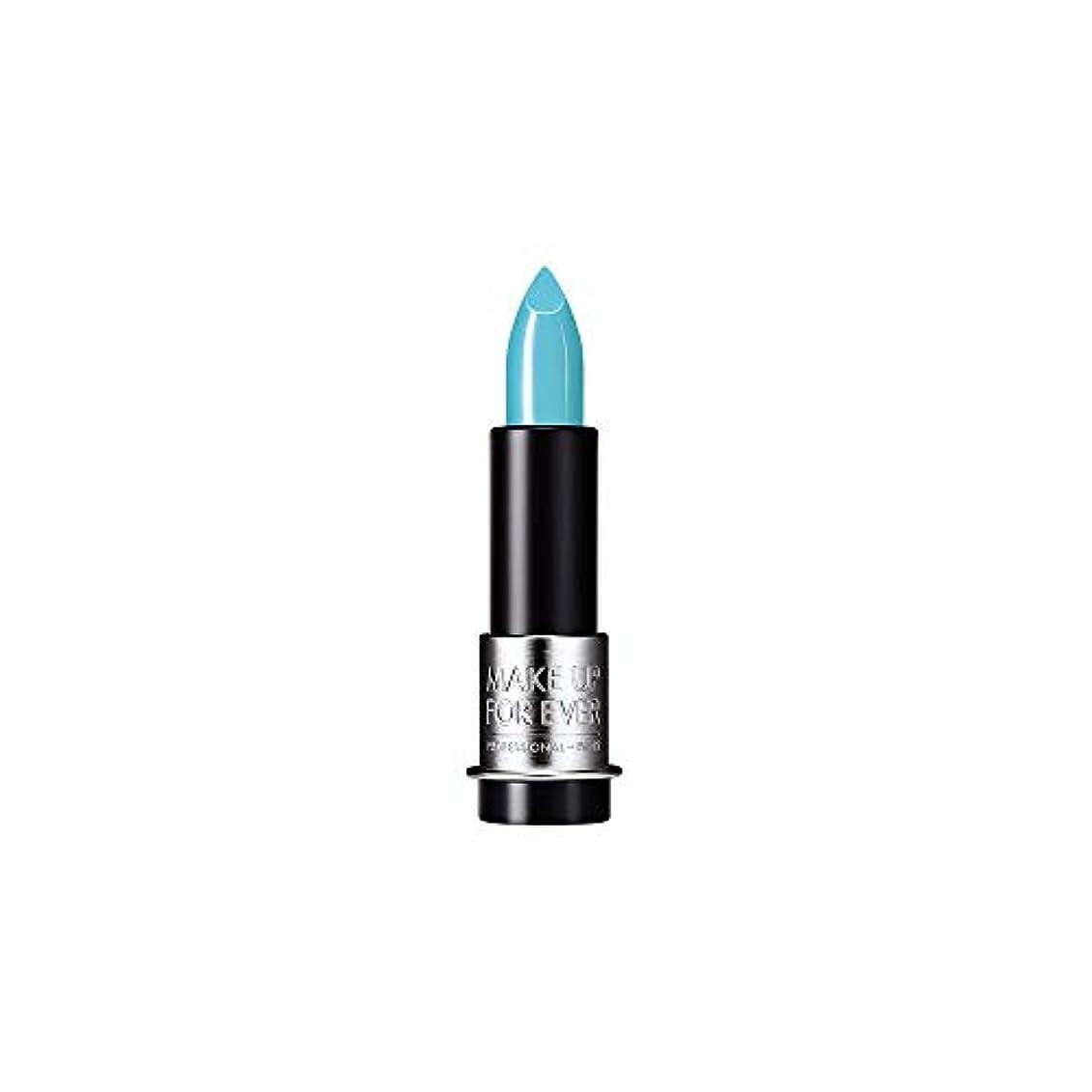 特異性ギャロップ代替案[MAKE UP FOR EVER] これまでアーティストルージュクリーム口紅3.5グラムのC602を補う - ターコイズブルー - MAKE UP FOR EVER Artist Rouge Creme Lipstick...