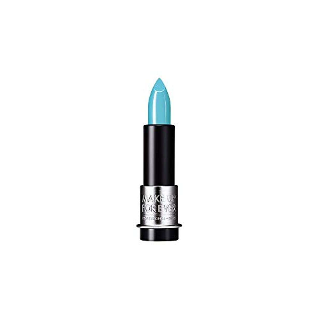 表面語やさしく[MAKE UP FOR EVER] これまでアーティストルージュクリーム口紅3.5グラムのC602を補う - ターコイズブルー - MAKE UP FOR EVER Artist Rouge Creme Lipstick...