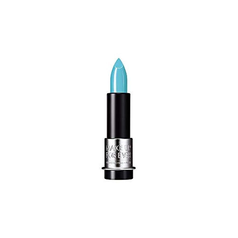 私たち光眠り[MAKE UP FOR EVER] これまでアーティストルージュクリーム口紅3.5グラムのC602を補う - ターコイズブルー - MAKE UP FOR EVER Artist Rouge Creme Lipstick...