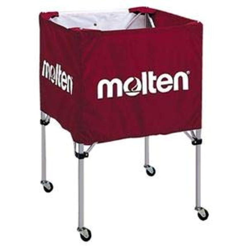 オーナメントバー識別モルテン(Molten) 折りたたみ式ボールカゴ(中?背低) エンジ BK20HLE
