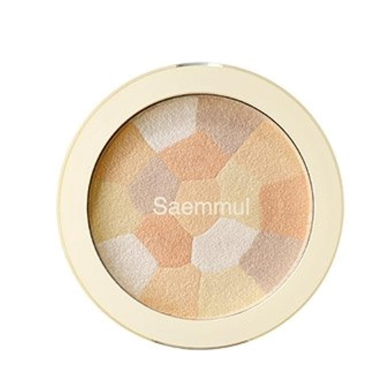 ジャンピングジャックぴったり信頼性のある【the SAEM】ザ セム セムムル ルミナスマルチハイライター シェーディング 8g Luminous Multi Highlighter Multi-Shading 韓国コスメ (ハイライター(02.Gold Beige))