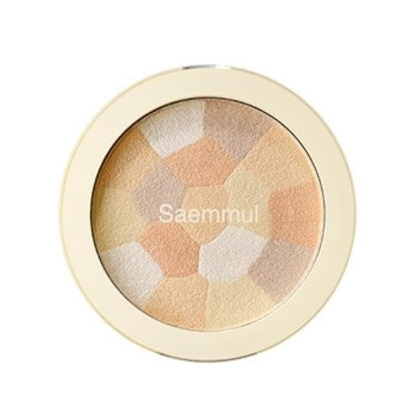 いくつかのにぎやか絶えず【the SAEM】ザ セム セムムル ルミナスマルチハイライター シェーディング 8g Luminous Multi Highlighter Multi-Shading 韓国コスメ (ハイライター(02.Gold Beige))