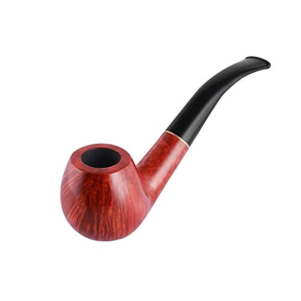老人下礼儀CHUJIAN ストーンウッドパイプ、手の曲がったパイプ、9 mmパイプ、喫煙セット、パイプ部品 男性の最高の贈り物