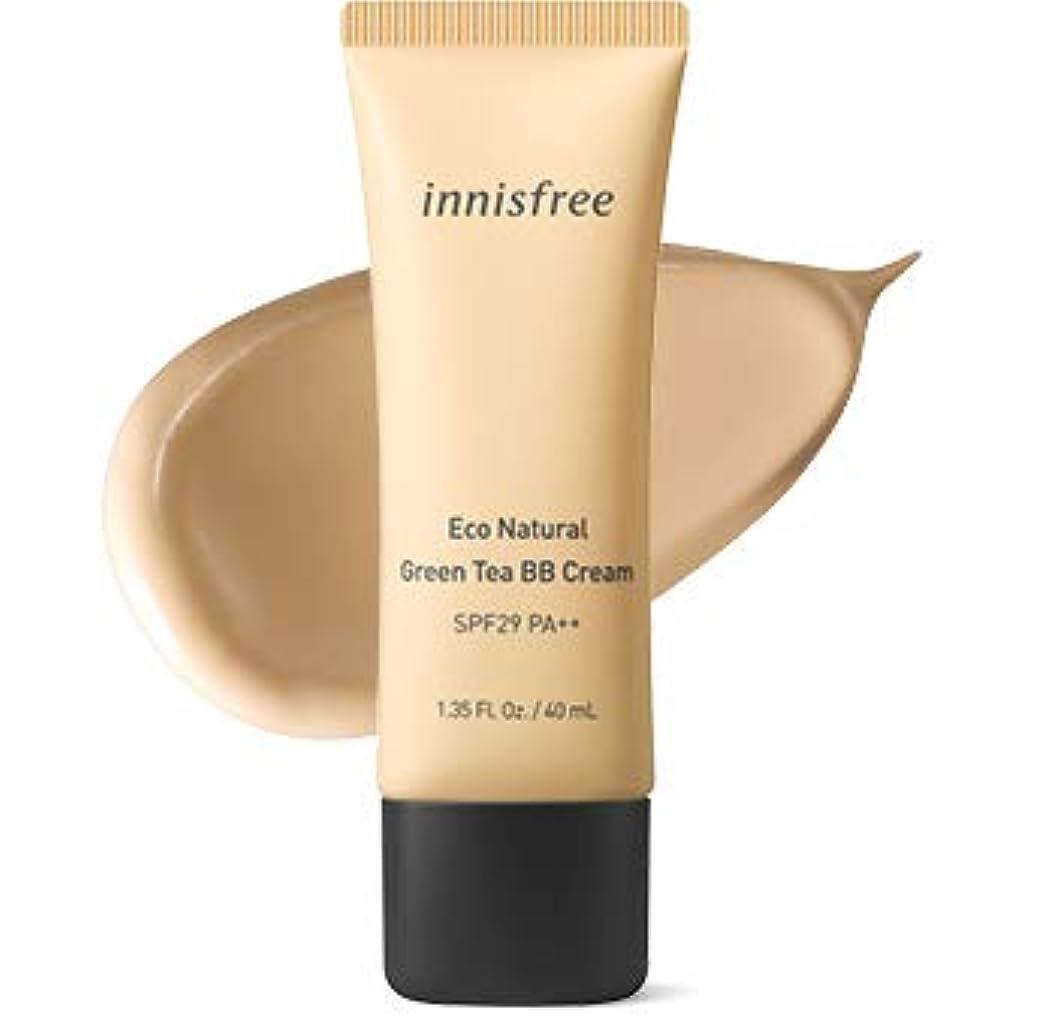 シマウマウィンクヒゲクジラ[イニスフリー.INNISFREE](公式)エコナチュラルグリーンティーBBクリームSPF29/ PA++40mL(「2019新製品)/ ECO NATURAL GREEN TEA BB CREAM (#2 ナチュラルしっとり肌/Natural moist skin)