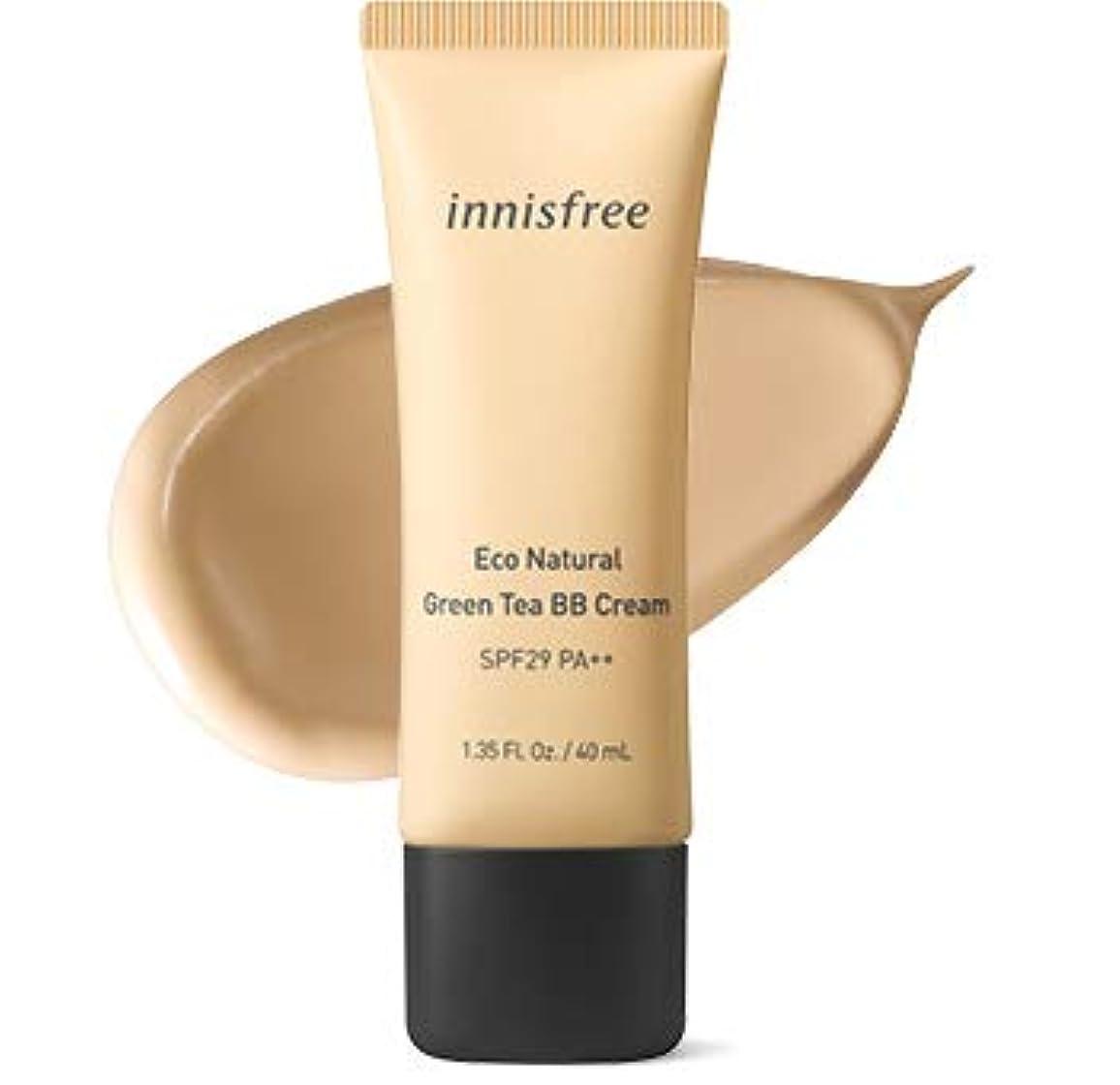 条約剛性事務所[イニスフリー.INNISFREE](公式)エコナチュラルグリーンティーBBクリームSPF29/ PA++40mL(「2019新製品)/ ECO NATURAL GREEN TEA BB CREAM (#2 ナチュラルしっとり肌/Natural moist skin)