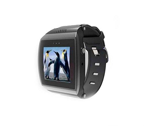 DingDong 新しいL15こんにちは腕時計Bluetoothスマート腕時計のサポートスマートフォンのためのSIMカードのロック解除1.55インチのタッチスクリーンIOSのiPhone 5S、5,4S、4 AndroidサムスンS5、S4、ノート3(IOSシステムは部分機能を使用することができます)