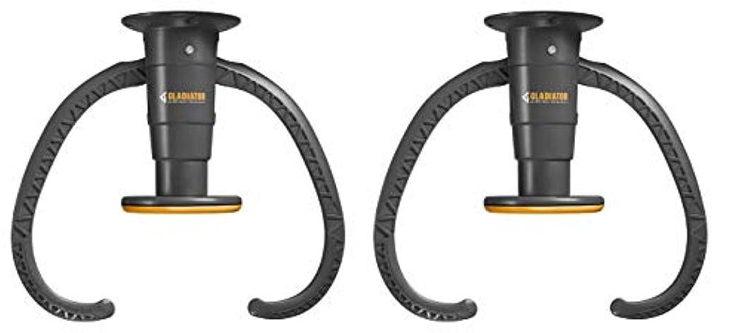 ゲート中止します合法Gladiator GarageWorks GACEXXCPVK Claw アドバンスドバイクストレージ v2.0 プラスチック(2個パック)