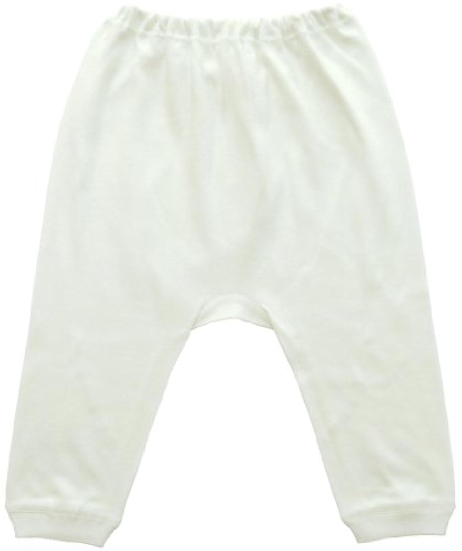 ベビーストーリー スムース 無地 ズボン下 80cm 白 T20803 日本製