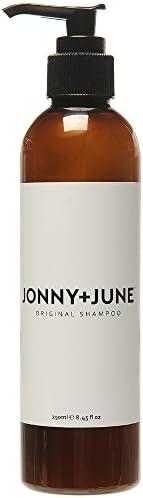 JONNY+JUNE Original Shampoo 250ml - Paraben Free, Vegan Friendly, Cruelty Free, Certified Organic Ingredients and Australian