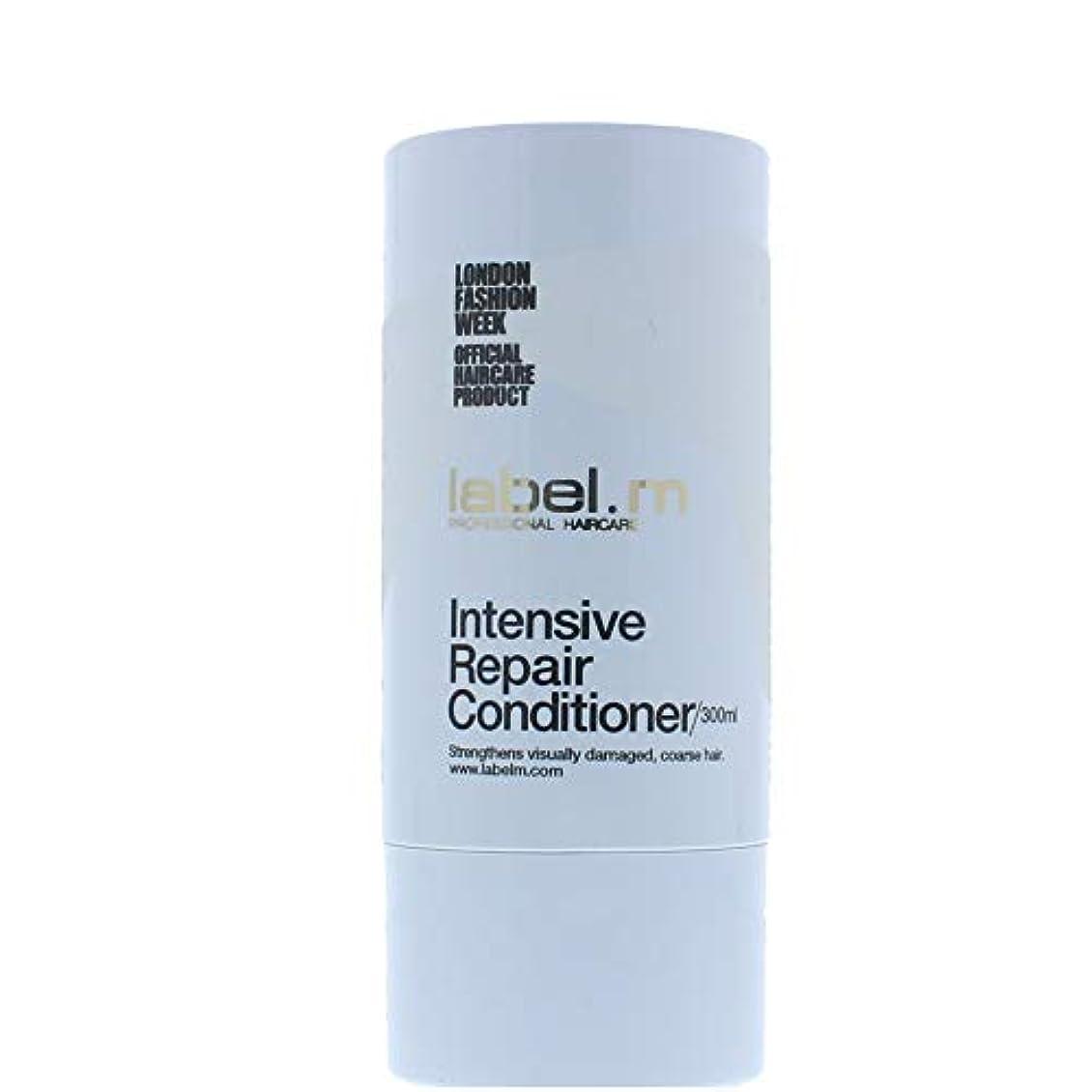 電卓焼く容量Label MIntensive Repair Conditioner (For Visually Damaged, Coarse Hair) 300ml/10.1oz【海外直送品】