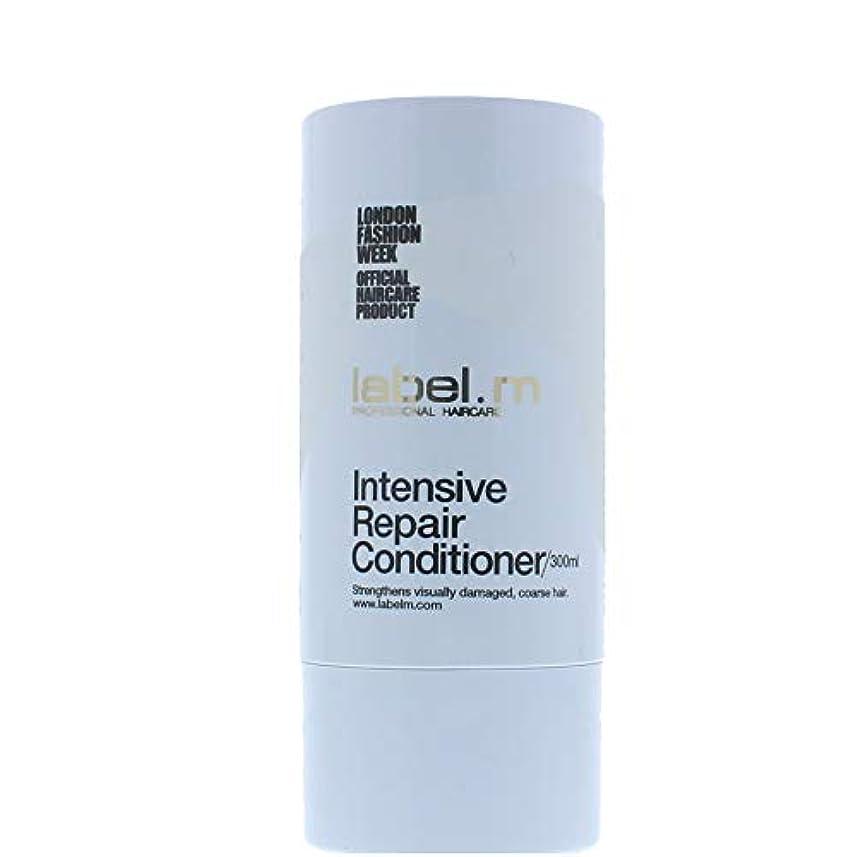 背骨きつく我慢するLabel MIntensive Repair Conditioner (For Visually Damaged, Coarse Hair) 300ml/10.1oz【海外直送品】
