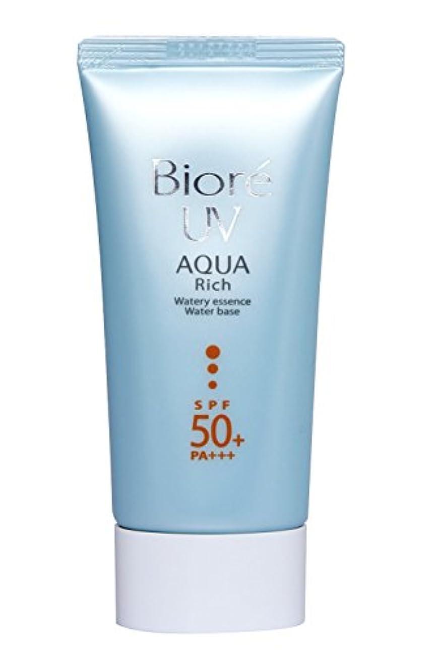 崇拝する南自分Biore Uv Aqua Rich Watery Essence spf50 + / PA + + + 50 ml