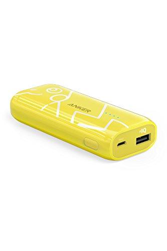 Anker PowerCore ピカチュウ 5200 (5200mAh モバイルバッテリー)【PowerIQ搭載 / オリジナルポーチ付属 / iPhone&Android対応】