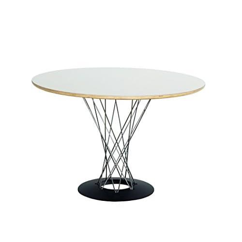 イサムノグチ サイクロンテーブル DIA 105cm-Isamu Noguchi- ホワイト(白) オリジナルと同じPLYWOOD成型合板使用