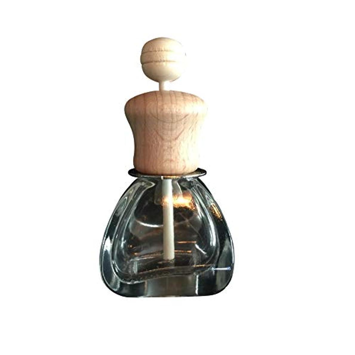 炎上りんごスクリューKISSION カーベント香水瓶 詰め替え可能 車のペンダント 芳香剤 香水ディフューザー 香水瓶 掛けて 空気清涼剤 ディフューザー フレグランスボトル