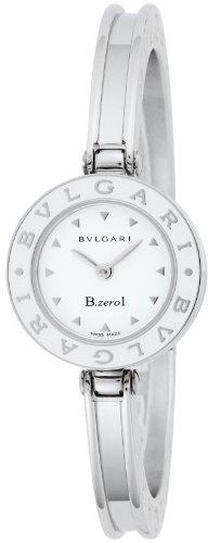 [ブルガリ]BVLGARI 腕時計 B-zero1 ホワイト文字盤 BZ22WLSS.S レディース...