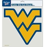 Caseys Distributing 3208580725 West Virginia Mountaineers Die-Cut Decal- 8 in. x 8 in. Color