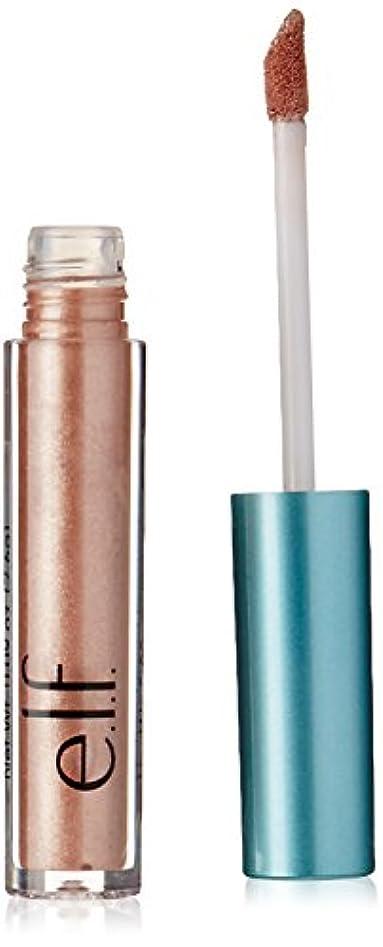 飢え必要条件モスe.l.f. Aqua Beauty Molten Liquid Eyeshadow - Rose Gold (並行輸入品)