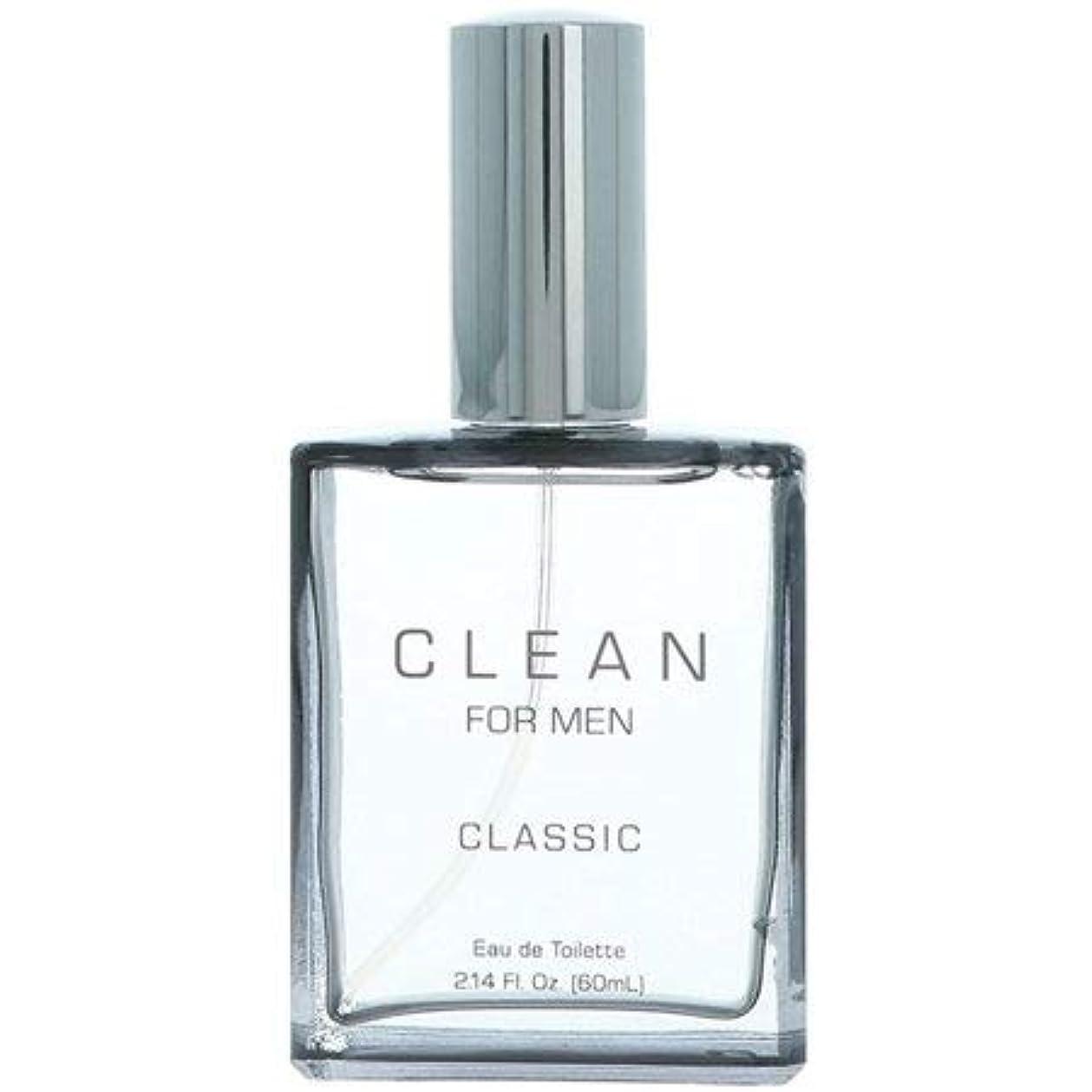 ラップサスティーン定数クリーン CLEAN クラシック フォーメン オードトワレ EDT 60ml [並行輸入品]