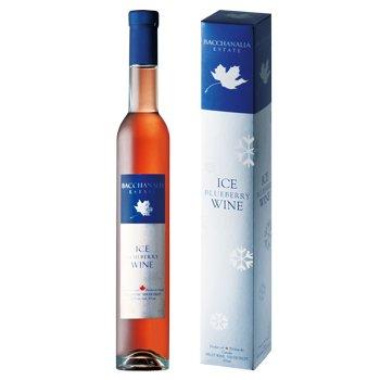 カナダお土産 アイス ブルーベリーワイン 375ml