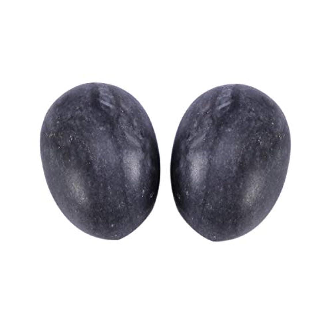 ブーススペースどっちHealifty 妊娠中の女性のためのマッサージボール6個玉ヨードエッグ骨盤底筋マッサージ運動膣締め付けボールヘルスケア(ブラックブルー)