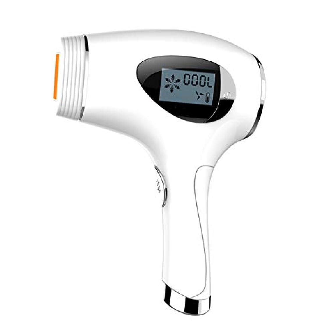 認知素人堤防顔と体の調整自動センサー女性の電気脱毛装置は、画面のレーザー器具剃刀
