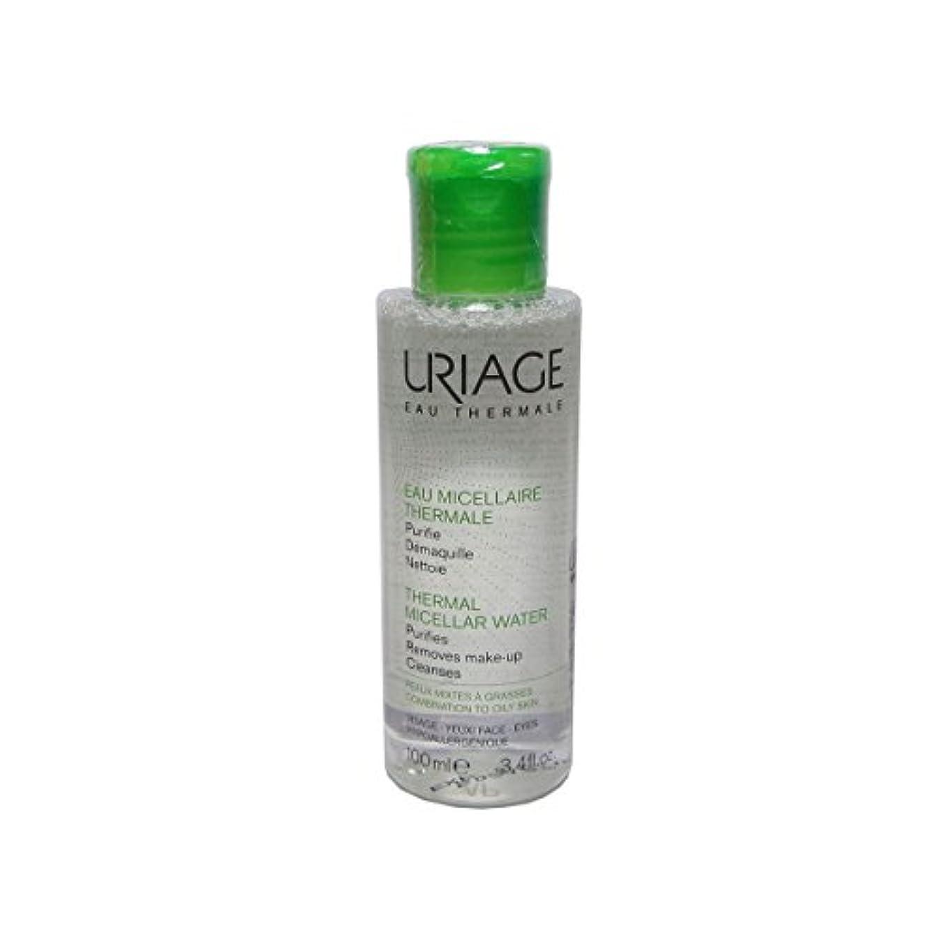 批判チーズ蛾Uriage Thermal Micellar Water Combination To Oily Skin 100ml [並行輸入品]