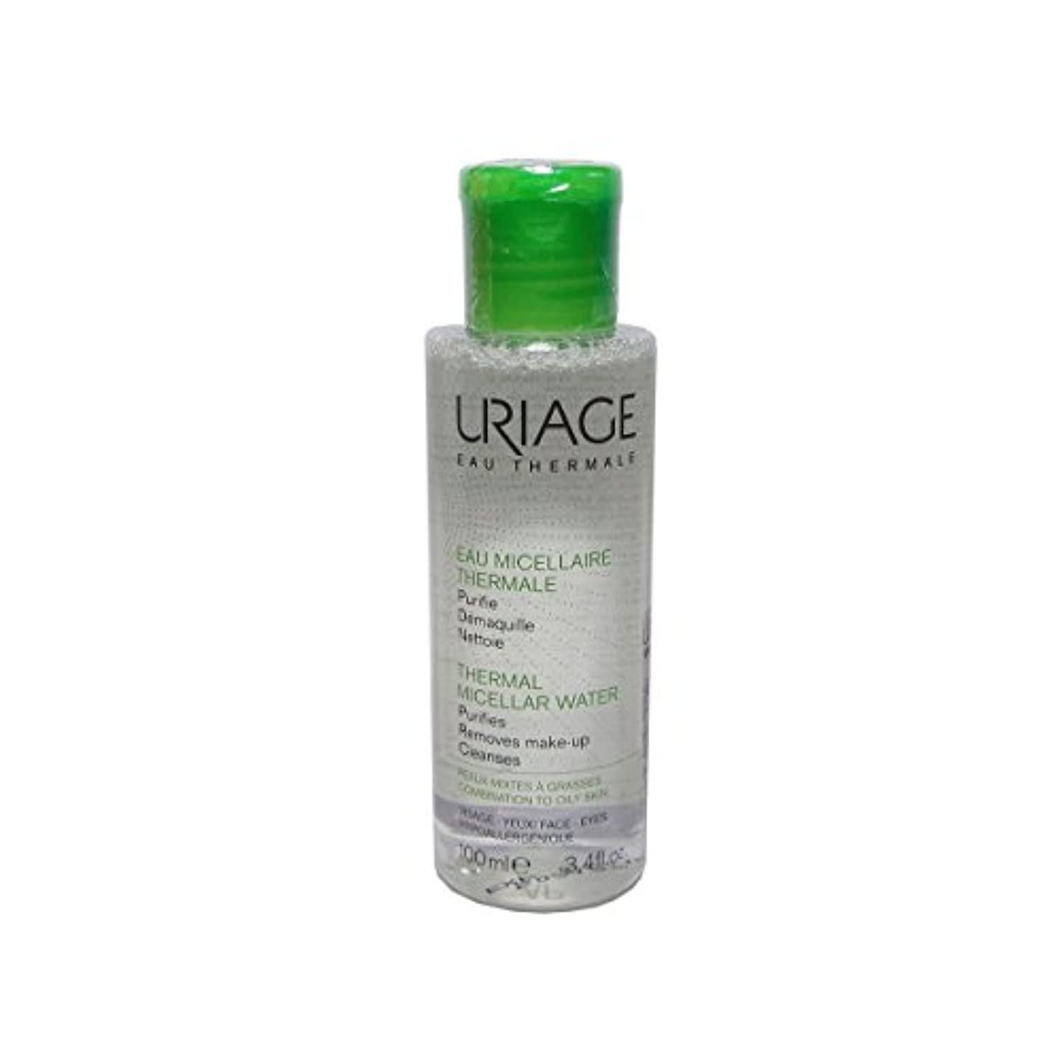 お客様拡張伝染性のUriage Thermal Micellar Water Combination To Oily Skin 100ml [並行輸入品]