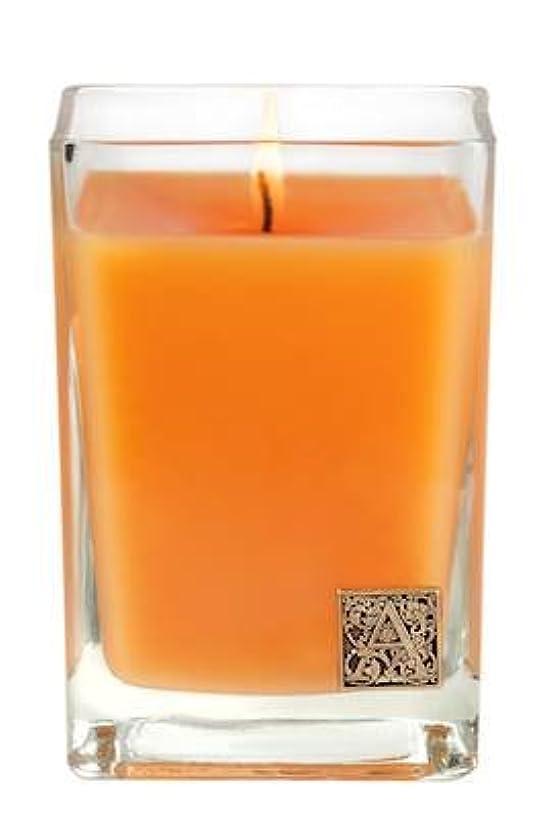 最小病気だと思う立ち寄るバレンシアオレンジ中ガラスキューブCandle by Aromatique