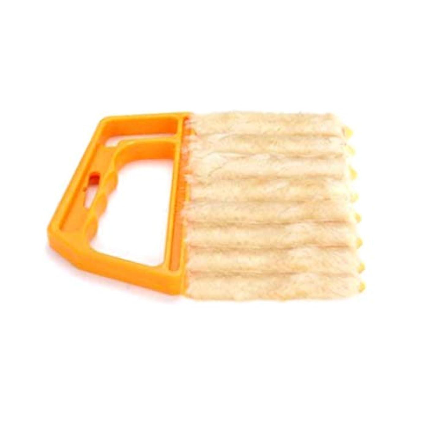 Idoiole ハンドヘルドエアコンシャッター窓ブラインドブラシダストクリーナー家庭用具 ヘアカラーリング用品