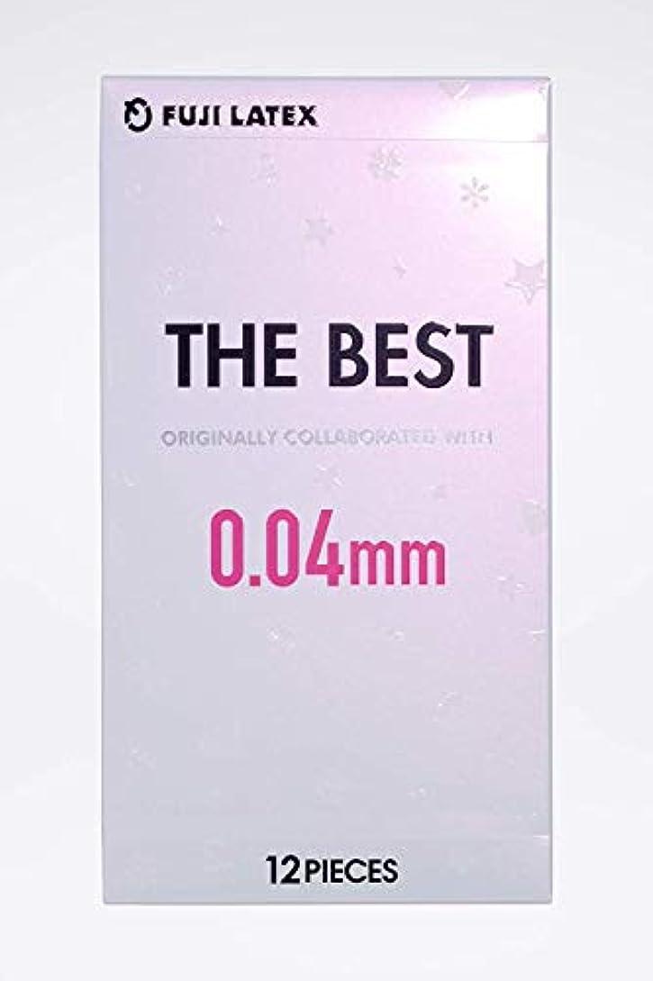 ワイプ診断する副産物【3個セット】THE BEST コンドーム 0.04mm 12個入