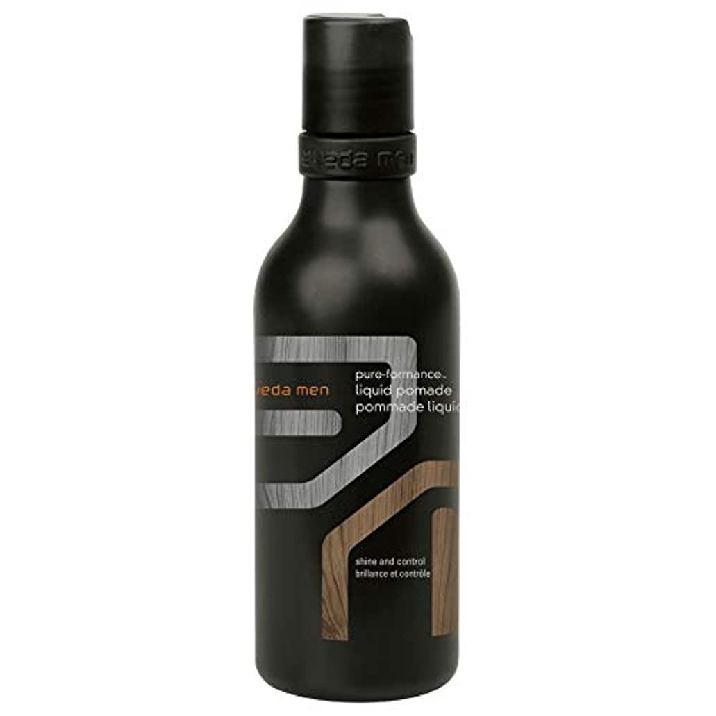 狂気アームストロング息苦しい[AVEDA] アヴェダ男性の純粋な-Formance液体ポマードの200ミリリットル - Aveda Men Pure-Formance Liquid Pomade 200ml [並行輸入品]