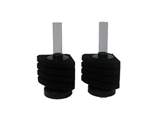 アクアリウム 水槽 用 バイオ スポンジ フィルター 濾過 装置(14 隅置型 小 2個)