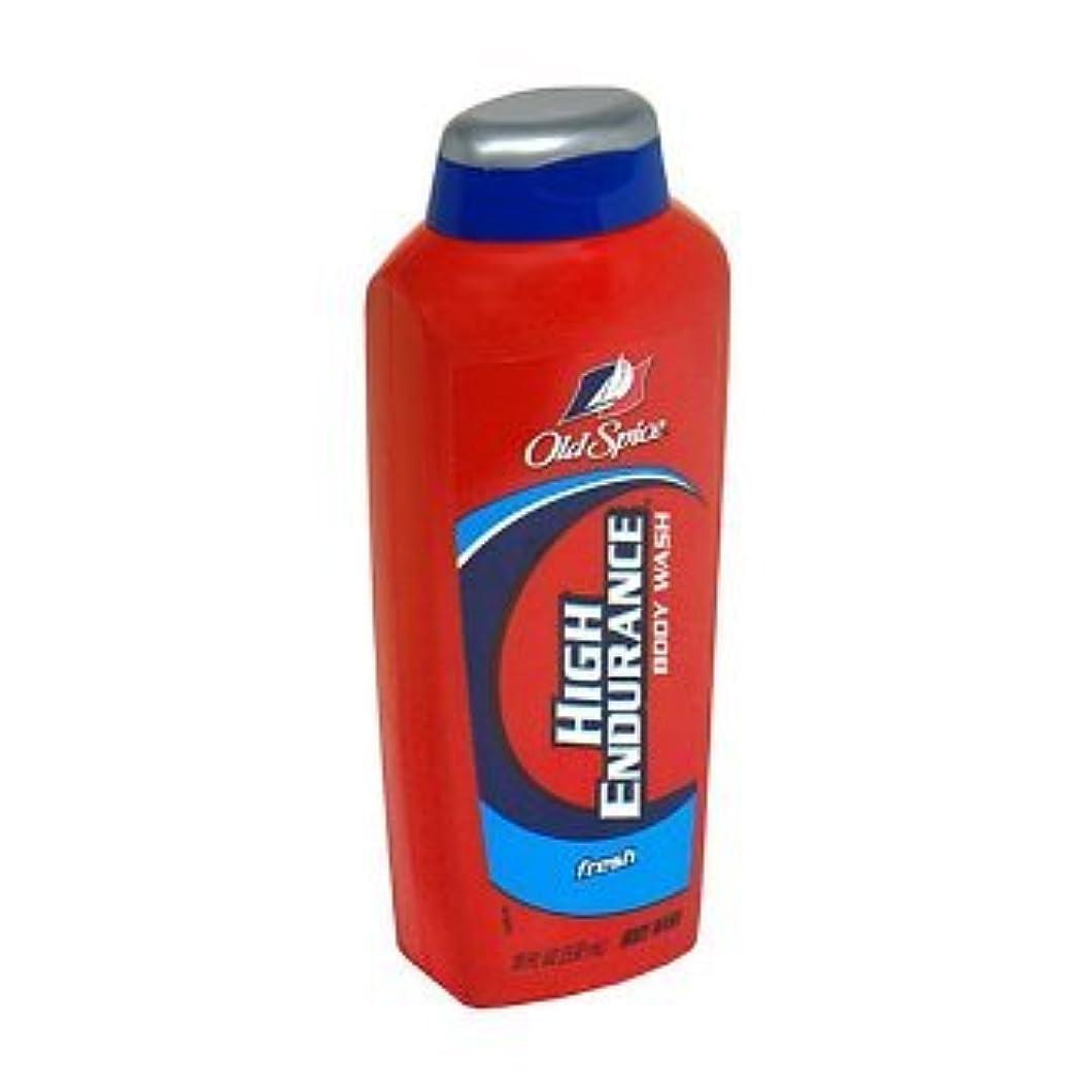 懐疑的戻る試験Old Spice High Endurance Body Wash, Fresh 535 ml (Pack of 6) (並行輸入品)