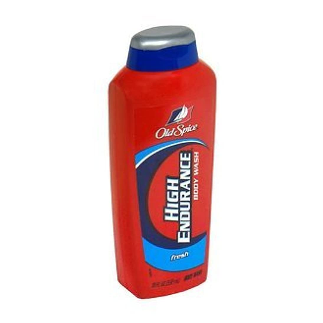 傑作事故有益Old Spice High Endurance Body Wash, Fresh 535 ml (Pack of 6) (並行輸入品)