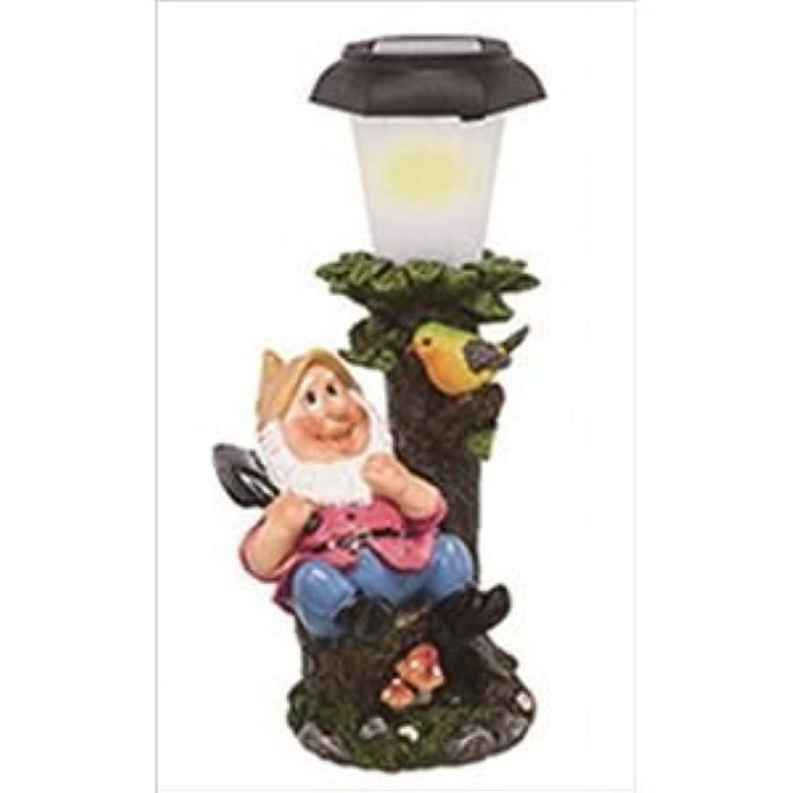 ナサニエル区動機付ける嵐LEDライト/照明器具 【森の仲間たち スコップ】 143×132×280mm 〔玄関照明 ガーデンライト テラス〕