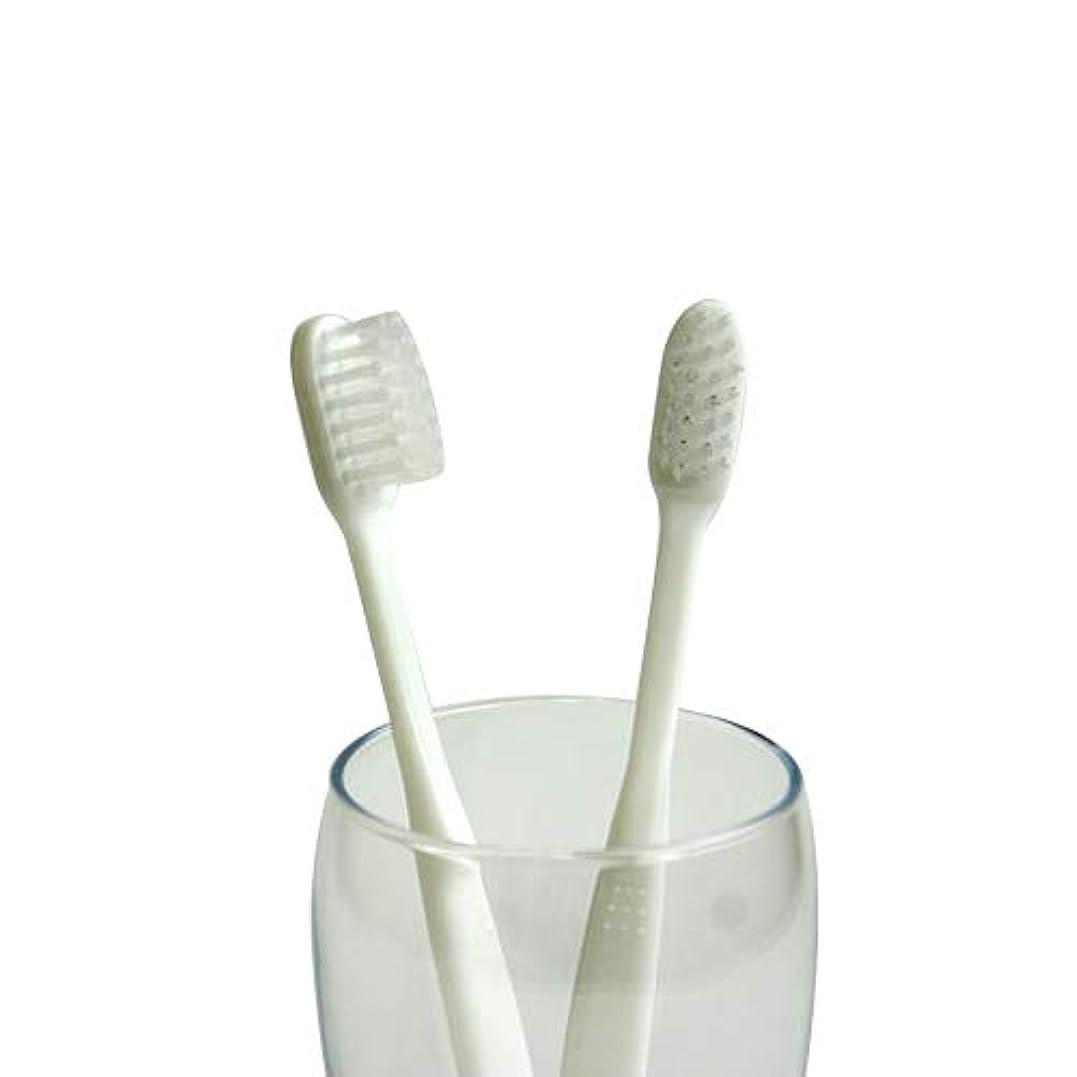 リング慢時業務用使い捨て歯ブラシ(ハミガキ粉無し) 500本入り│口腔衛生用 清掃用 掃除用 工業用 ハブラシ はぶらし