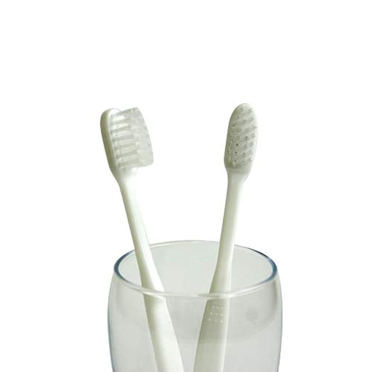 作物シールド容赦ない業務用使い捨て歯ブラシ(ハミガキ粉無し) 100本入り│口腔衛生用 清掃用 掃除用 工業用 ハブラシ はぶらし