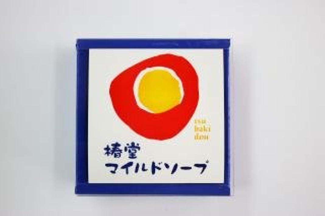 梨訪問散髪椿 堂 マイルドソープ (100g) 椿石けん