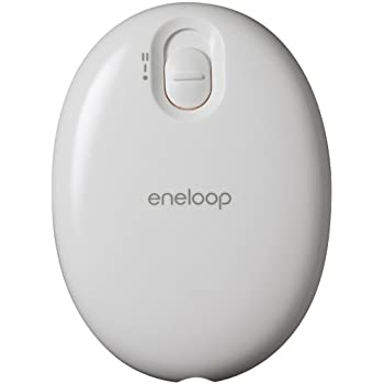 SANYO 充電式カイロ 「eneloop kairo」 (ホワイト) KIR-S2S(W)