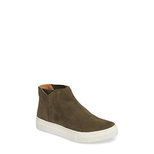 セイシェルズ シューズ スニーカー Seychelles Set Platform Sneaker (Women) Olive Sued [並行輸入品]