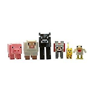 Minecraft Core Animal 3-Inch Action Figure 6-Pack [並行輸入品]