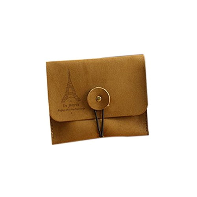 新しいレトロロマンチックタワースエードレザーNostalgic財布キーコインバッグポーチ財布
