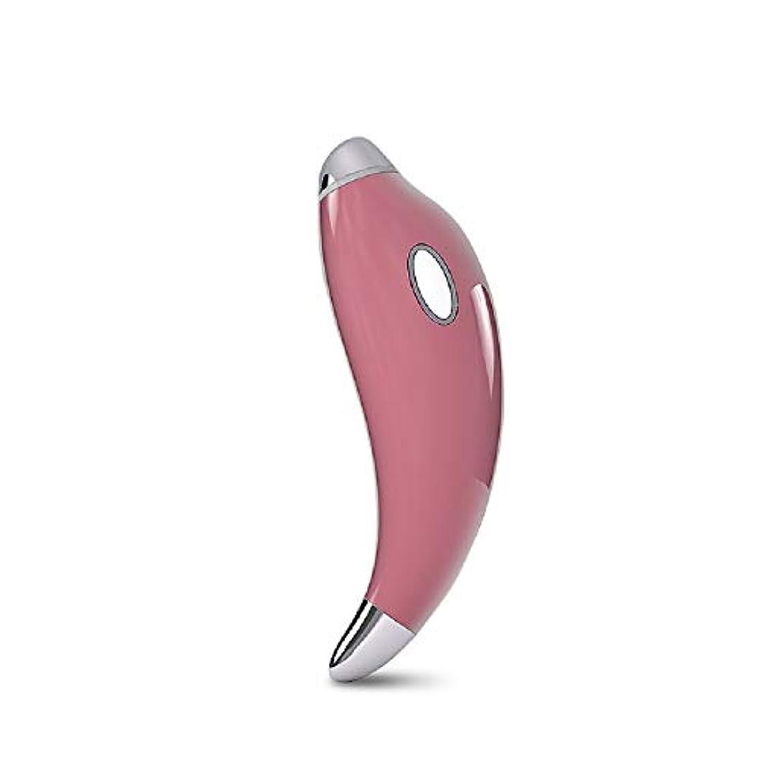 患者キャプション故意にGf ファッショントレンド高度なインテリジェントホットマジックワンド、しわ防止イオンイオントリートメントアイマッサージスティック 購入へようこそ (Color : Pink)