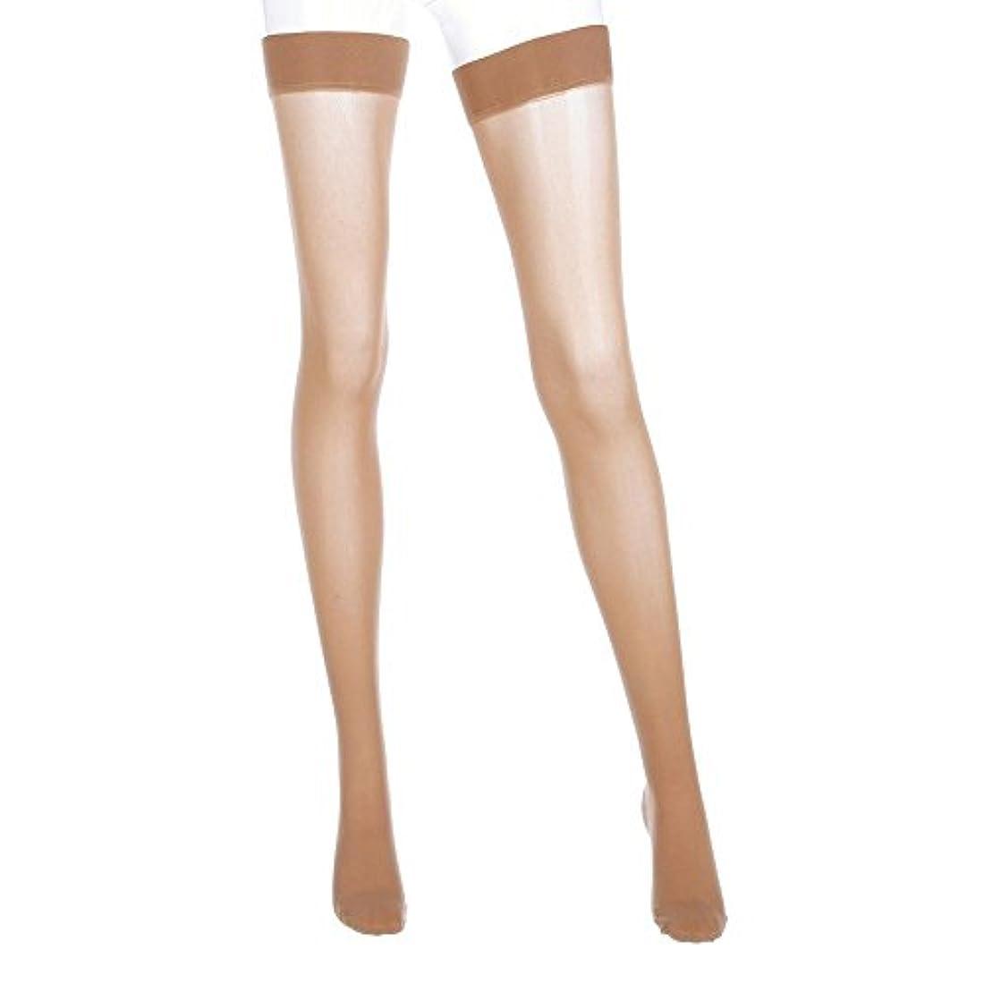 部分的ラジウム六月Mediven Assure, Closed Toe, with top band, 16-20 mmHg, Thigh High Compression Stocking, Medium, Beige by Mediven