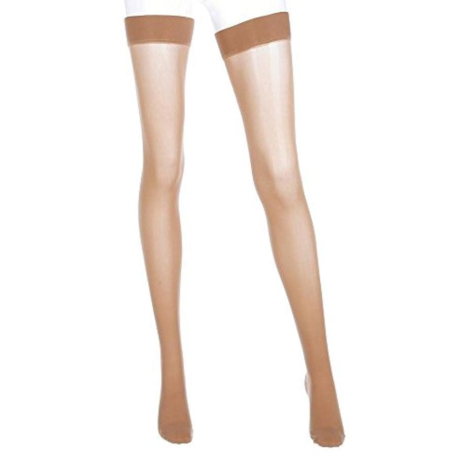 配当ソート内なるMediven Assure, Closed Toe, with top band, 20-30 mmHg, Thigh High Compression Stocking, Medium, Beige by Mediven
