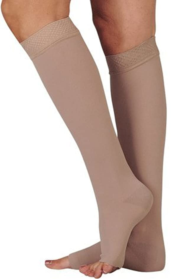 欠陥一般的に言えば情緒的20-30 mmHg Juzo Dynamic (Varin) AD-N Compression Stockings. Knee High. Closed Toe. Silicone Grip. 5cm , Size:V...