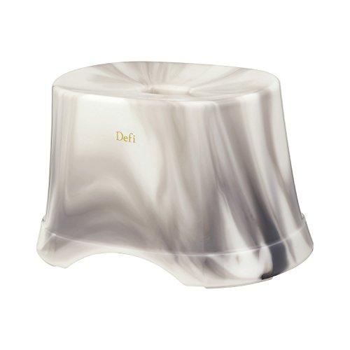 Defi (デフィ) 風呂いす 高さ21cm (スモーク) 抗菌 B-882